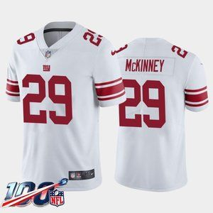 New York Giants Xavier McKinney White Jersey